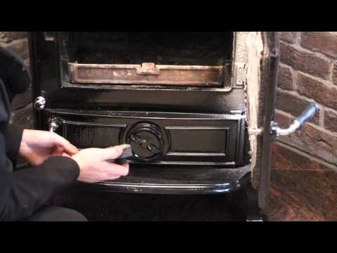 How to clean and maintain a multifuel stove.