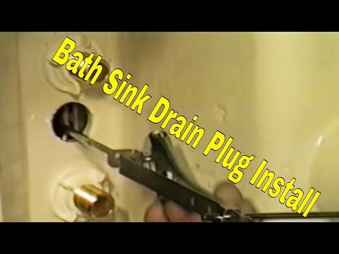 Bath Sink Drain Plug Replacementl 👍👍👍