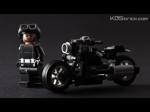 LEGO Vintage Bike Tutorial