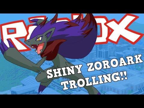 TROLLING WITH SHINY ZOROARK THAT BECOME'S SHINY MANAPHY!!!| Roblox Pokemon Brick Bronze