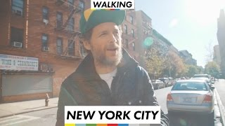 Walking - New York City - Lorenzo Jovanotti