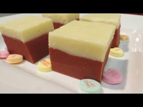 Red Velvet Fudge - How To Make Fudge - EASY Fudge Recipe