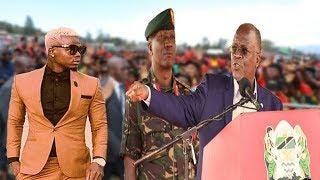 Magufuli Atangaza Harmonize Kugombea Ubunge leo / Amefanya kazi Kubwa