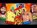 SPONGEREN & GRETALESS vs HITMONTANO & DAN-E - Uno 2vs2