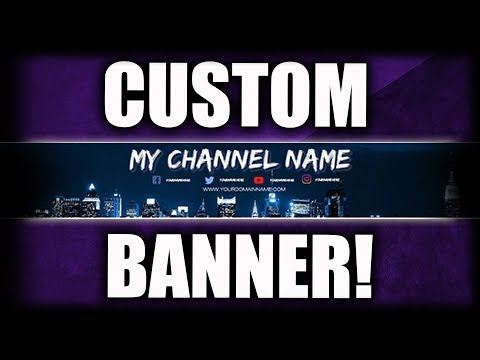 MCA - How To Make A Youtube Channel Banner WITHOUT Photoshop! (Pixlr Tutorial) For FREE 2018