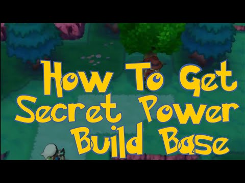 Pokemon Omega Ruby & Alpha Sapphire Tips : How To Get Secret Power And Building Base