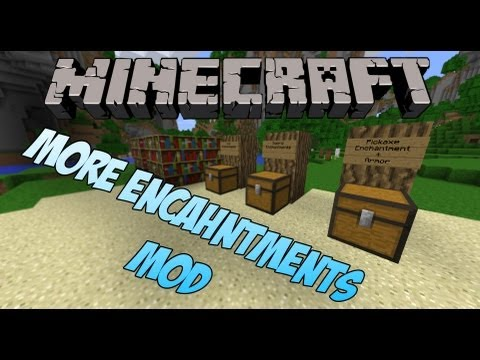 Minecraft: More Enchantments Mod 1.3.2 - Quick Draw Bow, Homing Arrow and Swiftness Boots