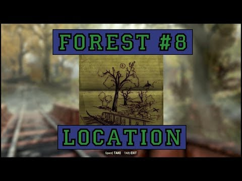 Fallout 76 | Forest Treasure Map #8 LOCATION!