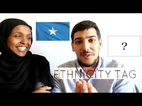ETHNICITY TAG ft my husband | MAHDI SPEAKS SOMALI