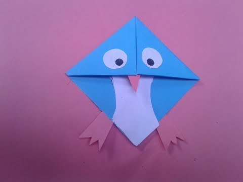 How to make a Paper Angry Bird Easy Tutorials A Paper Folding Origami Angry Bird