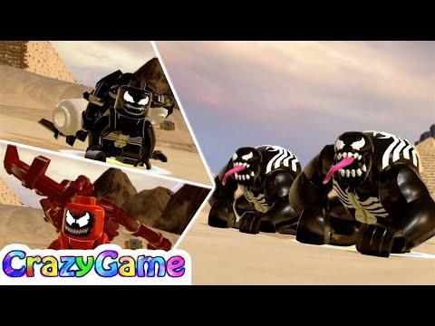 LEGO Marvel Super Heroes 2 Carnage & Venom (Egypt Hub Free Roam)