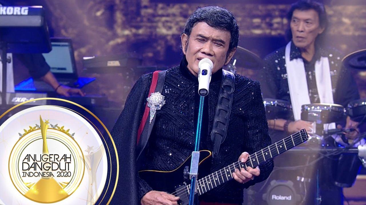 Download PALING DITUNGGU! Penampilan Rhoma Irama [BULAN BINTANG] - Anugerah Dangdut Indonesia 2020 MP3 Gratis