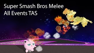 Melee All Events TAS 29:00.051 (18:55.108 IGT)