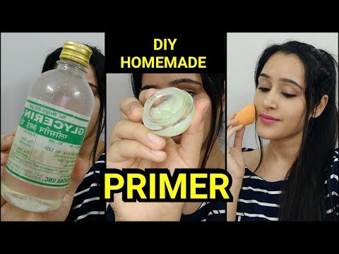 Make MAKEUP PRIMER AT HOME- EASY DIY MAKEUP PRIMER
