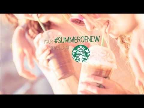 Your #summerofnew starts at Starbucks