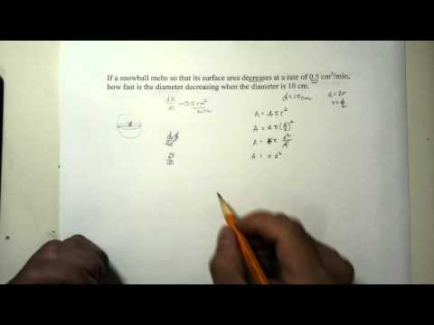 [HD] Calculus :: Related Rates Part 3