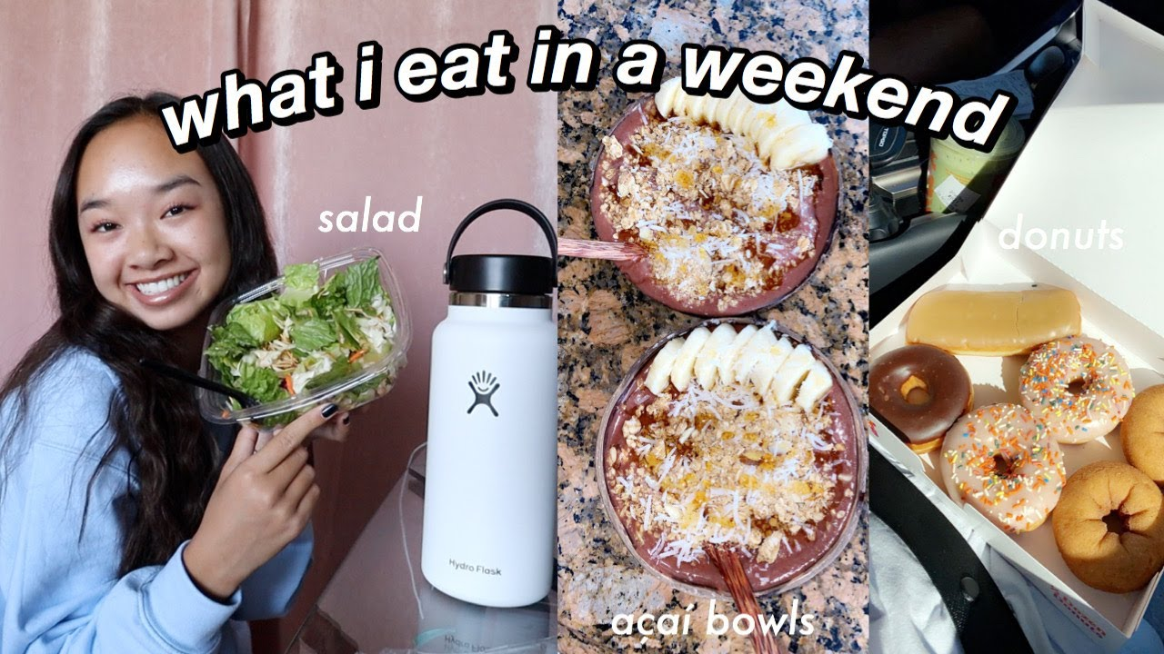 what i eat in a weekend | Nicole Laeno