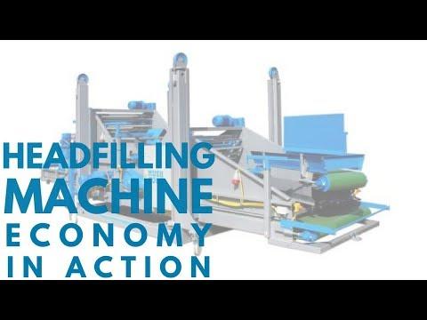 Mushroom Machinery - Effective Economy Head Filling Machine