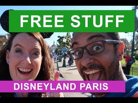 FREE STUFF at DISNEYLAND PARIS 2017 | Perks in the Park