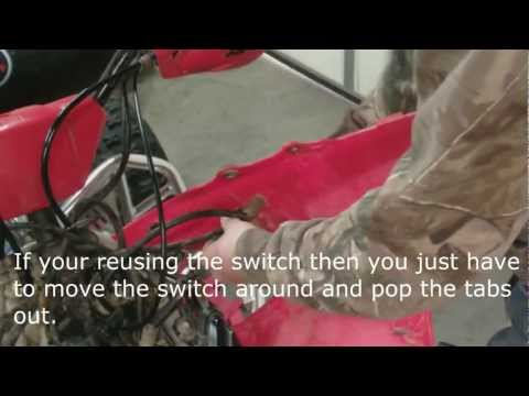 How to install key ignition and clutch (HD)