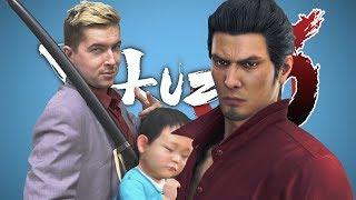 BOSS FIGHT IN THE BABY ROOM • Yakuza 6 Gameplay