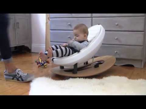 rokii 3-in-1 rocking egg chair & ride-on toy