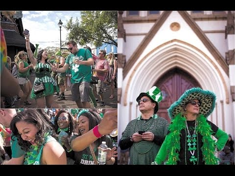 St. Patrick's Saturday Night 2K17 + How To Get Interviewed On Savannah C-Port News
