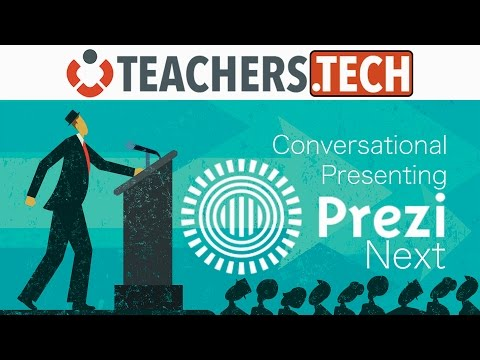 How to Use Prezi Next - Conversational Presenting