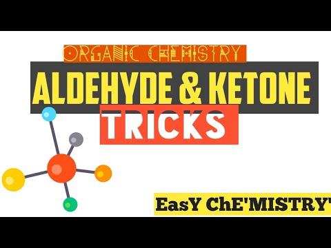 Aldehydes & Ketones Tricks.|| Chemical Reactions of Aldehyde & Ketones || OrGaniC NoW EasY.