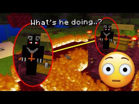 We left the Minecraft Boogeyman world on again for 3 hours.. (SCARY)