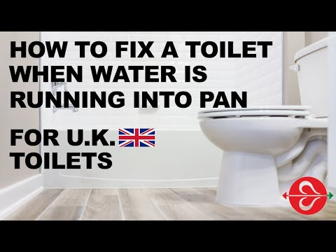 How to fix toilet when water running is into Pan - for Fluidmaster U.K. Customers