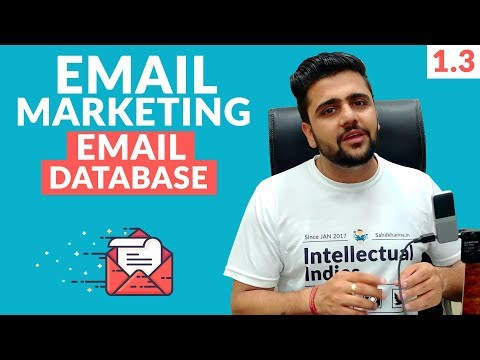 Email Marketing Introduction | Building List | Buying Email Database Is Good? | Digital Marketing