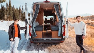 Traveling Cross Country Living In Our Tiny Home Van