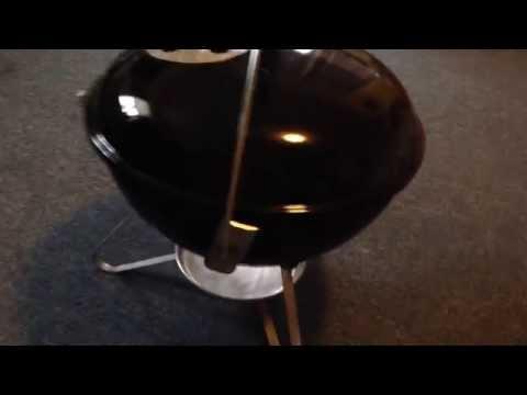 Weber Smokey Joe Gold Grill Vent Modification