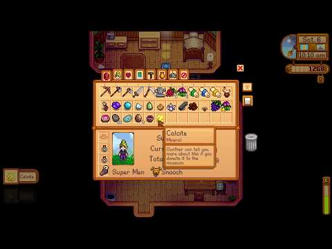 How to get Calcite mineral - Stardew Valley