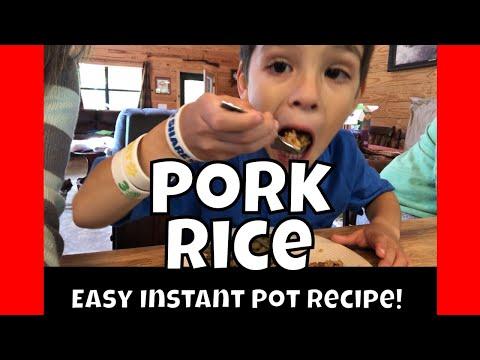 Easy Instant Pot Recipe | Pork Rice | AldermanFarms