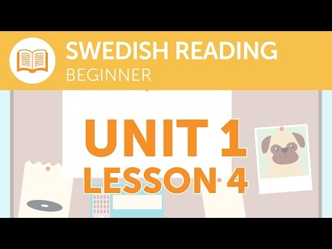 Swedish Reading for Beginners - Is the Express Service Running Today?