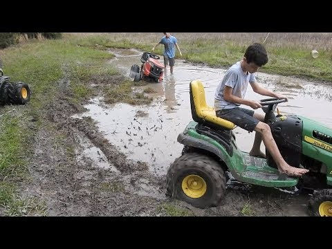 Taking All 3 Mud Mowers for a Ride