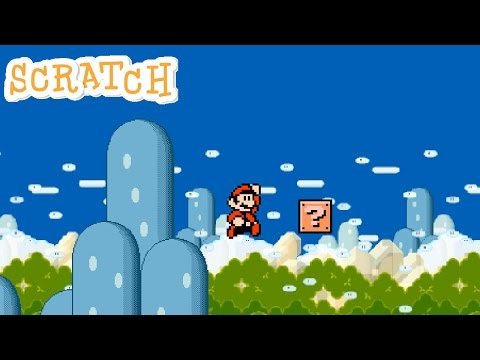 Scratch - Mario Tutorial - Adding in a Background