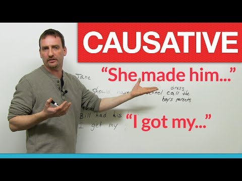 English Grammar - Causative