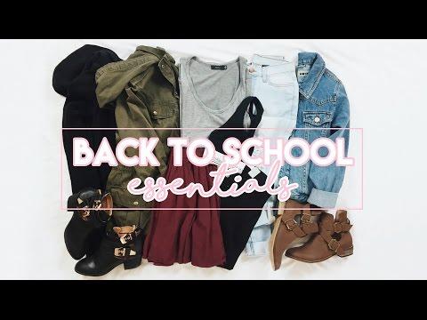 Back To School Clothing Essentials // Fall Essentials!