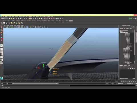 Modelling a Car in Maya Series 1 [P24] Door Trim