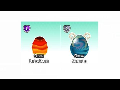 Dragon City Gameplay Level 81 (Got Magma Dragon Egg and Sky Dragon Egg) BREEDING SEASON