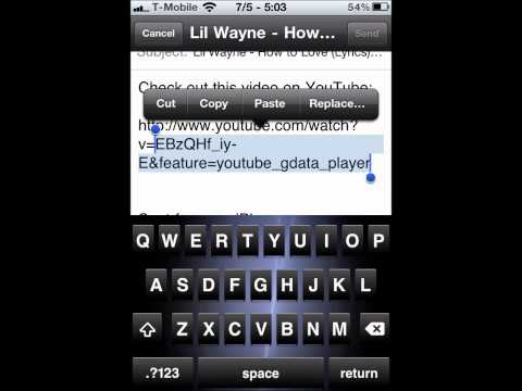 How To Post YouTube Videos On Facebook From iPhone / iPod / iPad