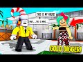 I Caught A Gold Digger Pretending My House Was HERS Roblox mp3