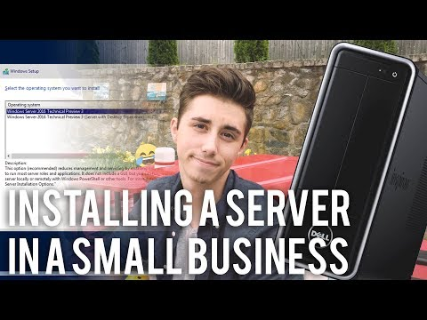 Installing A Server in a Small Business - Part 1