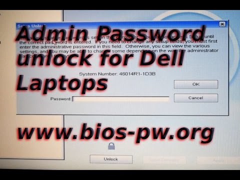 Handy Admin Password Removal on Dell Latitude E6420 & E6430 Laptops + others