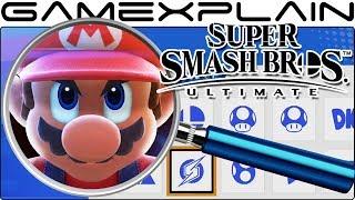 Super Smash Bros. Ultimate ANALYSIS - Sub Menus & Classic Mode Breakdown (Secrets & Hidden Details)