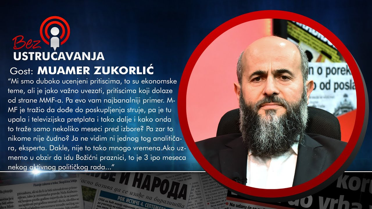 BEZ USTRUČAVANJA - Muamer Zukorlić: Jedini ja znam sve majmunluke političara!