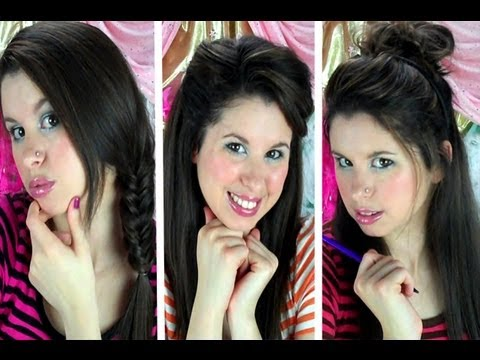 9 Quick & Easy Back to School Hairstyles!